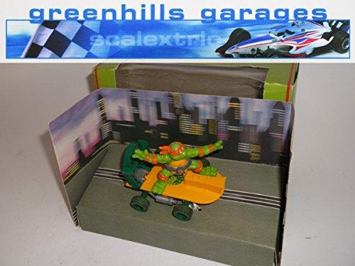 Greenhills Scalextric TMNT Ninja Turtles Skateboard Michaelangelo C338 - Boxed - 20307 ##x