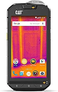 CAT PHONES S60 Waterproof Smartphone Unlocked LATAM Variant GSM Dual SIM, 32 GB, Integrated FLIR Camera
