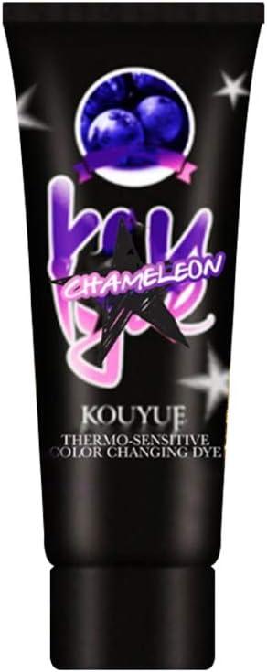 WLPTION Color de Pelo termocrómico Que Cambia de Color Tinte ...