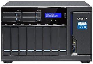 QNAP TVS-1282T3-i5-16G NAS,8+4+2xM.2 Slot(NO Disk),16GB,I5-7500,THUNDERBOLT3,GbE(4),TWR,2Y