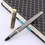 ZHQHYQHHX Pluma estilográfica para escribir, diseño de pistola de talla...