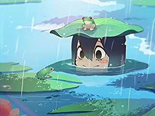 XXW Artwork My Hero Academia Asui Tsuyu Poster Frog/Froppy/My Hero Academia Season 3 Prints Wall Decor Wallpaper
