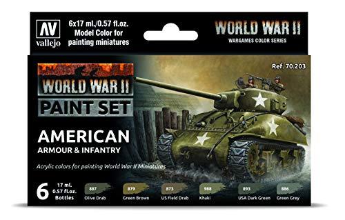 Vallejo 070203 - Kit de construcción de maqueta de la WWII