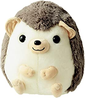 Digood Anime Hedgehog Plush Toy, Soft Plush Fabric Stuffed Pillow Doll Animal Toys Kids Gift Decor (Gray)