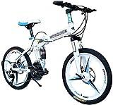 BANANAJOY Bicicletas for niños for niños de velocidad de bicicletas de montaña masculino y femenino plegable bicicleta de carreras al aire libre Estudiante de bicicletas adultos de la bicicleta Choque