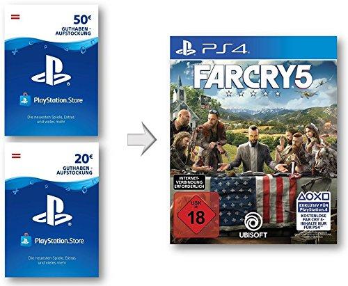PSN Guthaben Aufstockung für Far Cry 5 | PS4 Download Code - österreichisches Konto