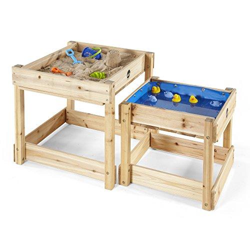 Plum Products Sandy-Bay-Holz-Sandkasten und Wasser-Tisch