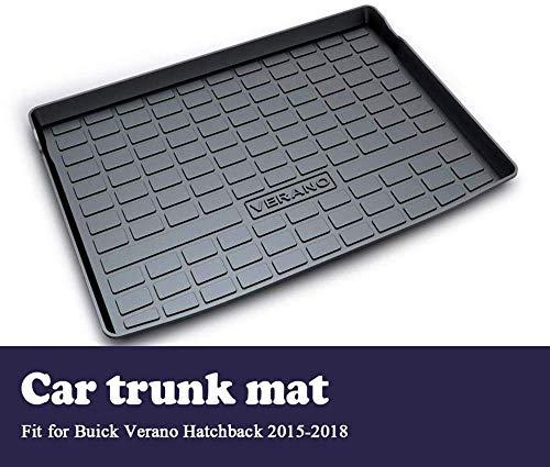 Dunny Auto Cargo Achterste Trunk Mat, Voor Buick Verano 2017 2018 2015 2016 Hatchback Boot Liner Lade Anti-slip Vloermat Accessoires