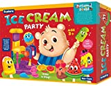 Explore..   Perfumed Dough   Ice Cream Party (Fun & Creative Learning Activity Toy Set for Role-Play with 6 Colours of Non-Toxic Perfumed Dough for Ages 3+ of Boys and Girls)