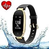 Tkstar Activity Tracker con cinturino a pressione sanguigna e...
