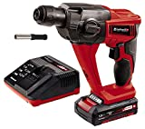 Einhell Expert Martillo perforador y cincelador Power X-Change (TE-HD 18 Li Kit) 18V con luz led,...