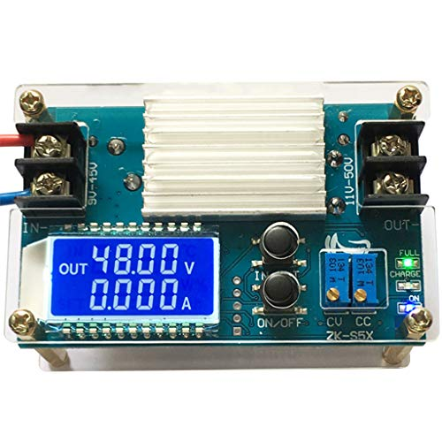 DC 10-50 V Boost-Spannung Konstantstrom 5 A Netzteil Modul für DC-DC Akku-Ladung LCD Display