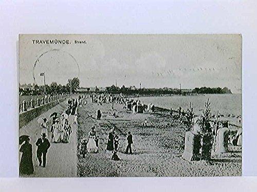 AK Travemünde, Strand; gelaufen 1908