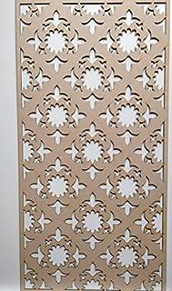 LaserKris - Mueble de Pared para radiador (Tablero DM Perforado (4X2) K2