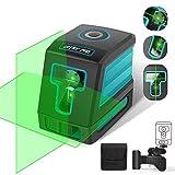 Laser Level, DETLEV PRO Green Self Leveling Laser 98FT 3 Modes Horizontal, Vertical