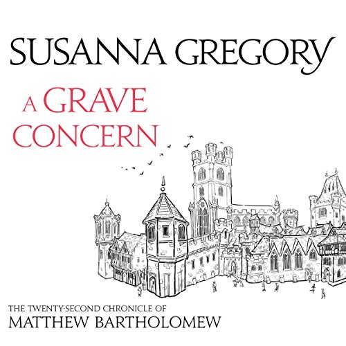 A Grave Concern audiobook cover art