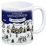 trendaffe - Nordhausen Thüringen Weihnachten Kaffeebecher mit winterlichen Weihnachtsgrüßen - Tasse, Weihnachtsmarkt, Weihnachten, Rentier, Geschenkidee, Geschenk