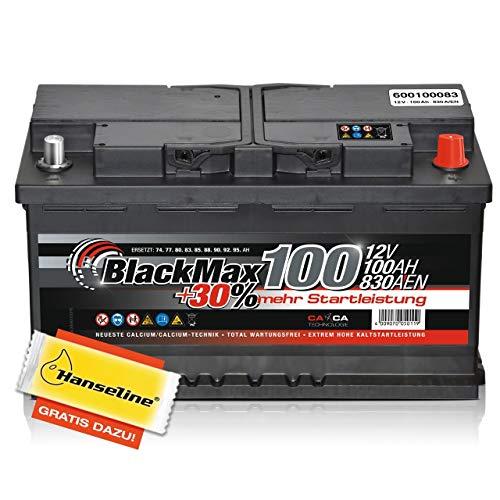 BlackMax 100 Autobatterie