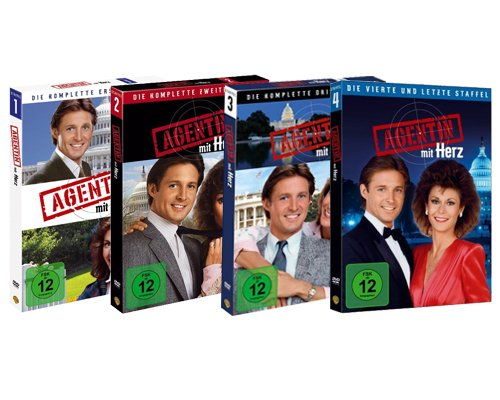 Agentin mit Herz - Complete Series 1 2 3 4
