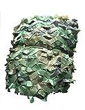 DW 2M × 3M Tela Oxford Camuflaje Jungla Neta Sombra Neta Cubierta del Coche Camuflaje Neta, Fondo Decoración, Tema Fiesta (Size : 4m×5m)