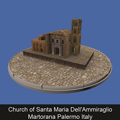Couverture de Church of Santa Maria Dell'Ammiraglio Martorana Palermo Italy (ENG)