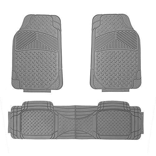 FH Group F11307GRAY Gray All Season Floor Mat (Full Set Semi-Custom Premium)
