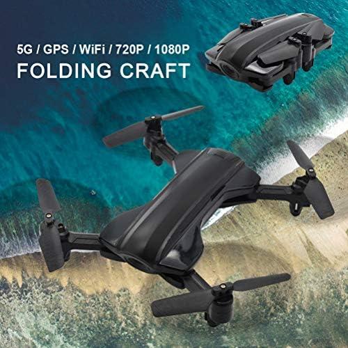 Daxoon Professionelle Drohne, Fernbedienung Quadcopter mit 5G Wi-Fi-übertragung HD 1080P Kamera 120 ° FOV GPS-Rückkehr 15 Minuten Flugzeit Flying Spielzeug für Anf er
