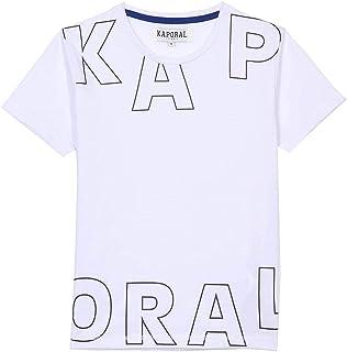 Kaporal - T-Shirt régular garçon en 100% Coton - Mallo - Garçon