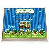 Set de cultivo de hierbas – 6 variedades con mini invernadero.