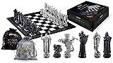 Ajedrez y verificadores Establecer Harry Potter Wizard Chess Set Regalo para los Amantes del ajedrez Internacional/Principiante y aprendices Baifantastic