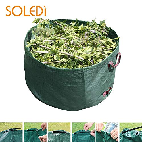 New AloPW Yard Waste Bags Economic Garbage Storage Bag Yard Leaf Bag Portable Garden Waste Bag Eco-F...