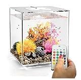 biOrb Cube 30 Aquarium with MCR - 8 Gallon, Transparent