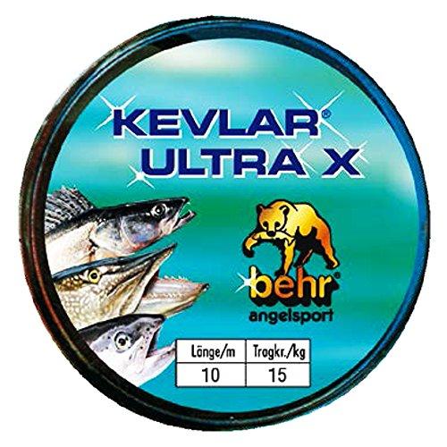 Kevlar Raubfischvorfach Ultra X 10 m 15 kg