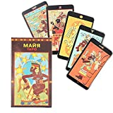 VERSIÓN Rusa Tarot Tarjetas Tarjeta Juego Juego Juego Juego Divinación del Juego (Color : RU Maya)