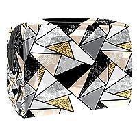 女性用コスメティックバッグ 大理石 ゆったりとした化粧ポーチトラベルトイレタリーバッグアクセサリーオーガナイザー