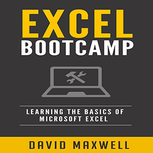 Excel Bootcamp audiobook cover art