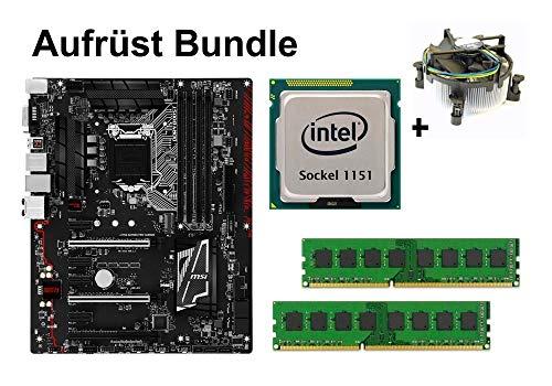 Marke: MSI Aufrüst Bundle Z170A Gaming PRO Carbon + Intel Core i3-6100T + 32GB RAM #126193