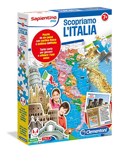 Clementoni Découvrez Découvrons l'Italie Multicolore