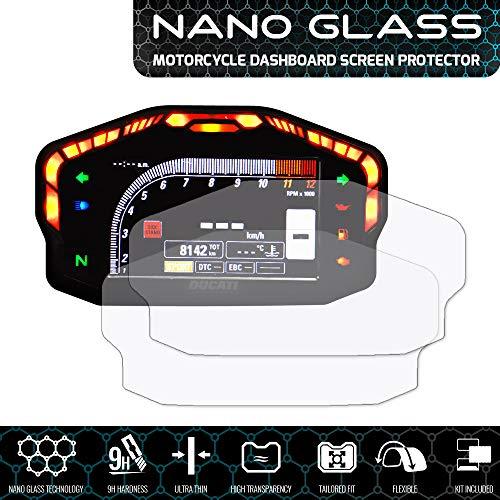 Speedo Angels Nano Glass Protecteur d'écran pour PANIGALE 899/959/1199/1299 (2012+) x 2