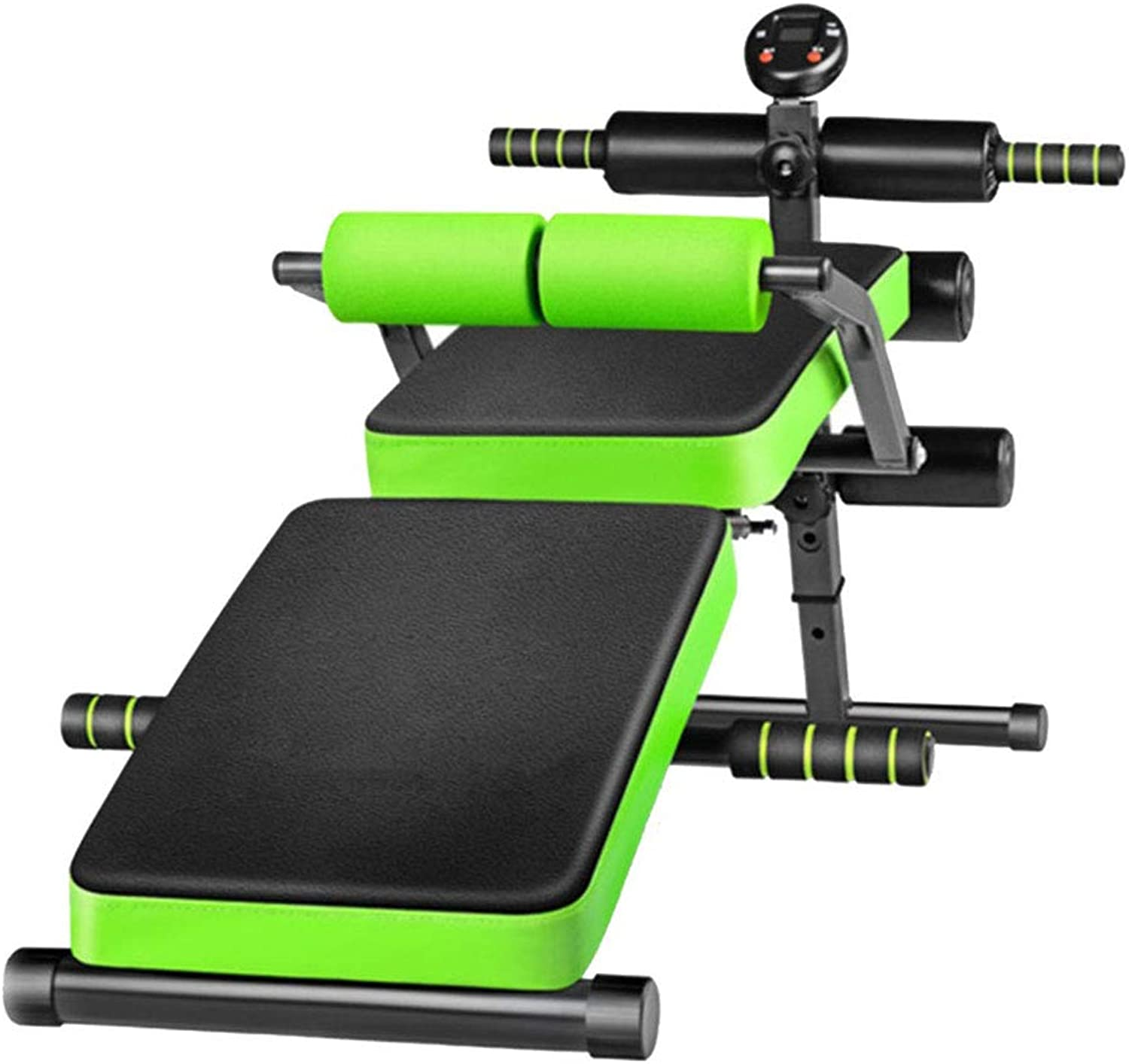 Family Abdominal Trainer MultiFunctional Fitness  Safety Fitness  Suitable for Beginners, Obese and Fitness People  Led Display