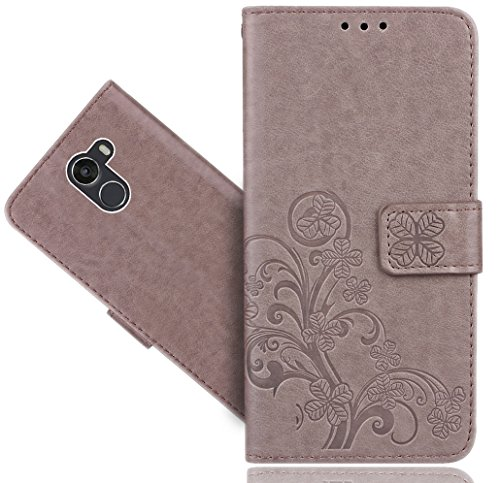 FoneExpert® Wileyfox Swift 2 / Swift 2 Plus Handy Tasche, Blume Wallet Case Flip Cover Hüllen Etui Hülle Ledertasche Lederhülle Schutzhülle Für Wileyfox Swift 2 / Swift 2 Plus