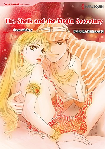 The Sheik and the Virgin Secretary: Harlequin comics (English Edition)