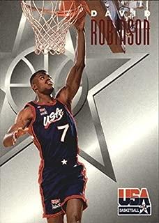 1996 SkyBox USA Texaco #10 David Robinson NBA Basketball Trading Card