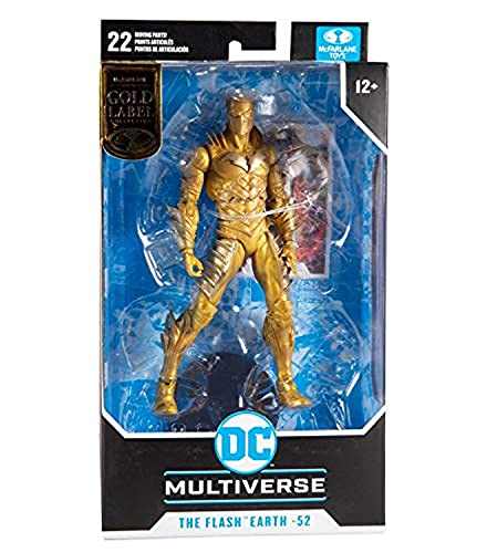 McFarlane Toys DC Multiverse Gold Label Red Death The Flash Earth-22 Figur
