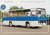 Blechschilder Busse Sammeledition / Oldtimer des Ostens / DDR ca. 20x30cm (Nr. 20 - Ikarus 211)