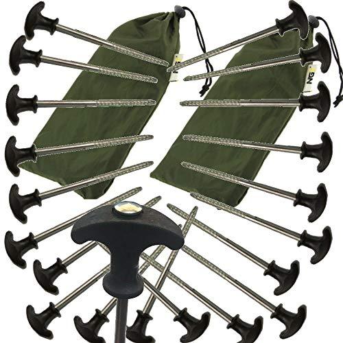Bivvy Pegs x 20 for Fishing Bivvy/Umbrella