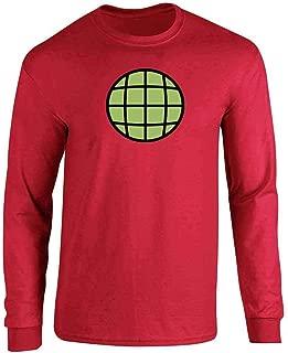 Planeteer Team Vintage Retro 90s Halloween Costume Full Long Sleeve Tee T-Shirt