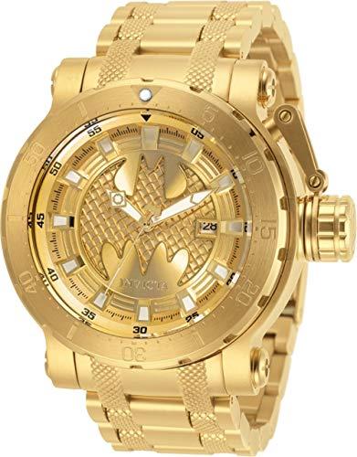 Invicta 32190 DC Comics Limited Edition Batman Men's Gold Automatic Watch