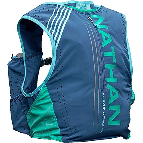 Nathan Women's Hydration Pack/Running Vest - VaporHowe 4L Capacity with Twin 20 oz Soft flasks Bottles, Hydration Backpack - Running, Marathon, Hiking, Outdoors, Cycling