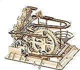 Zulux 3D de Madera de mármol Ejecutar Puzzle Craft Juguete, Regalo para los Adultos y Adolescentes, Niño Niña Edad 14+, Bricolaje Kits de Edificio Modelo Azud Coaster